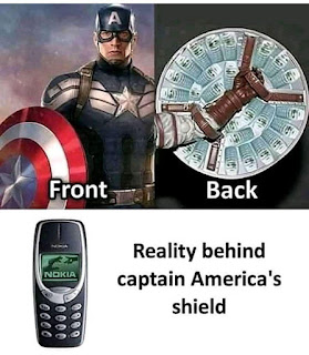 Captain America, Nokia 3310 Meme