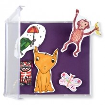 Customized Kid's Art Magnets