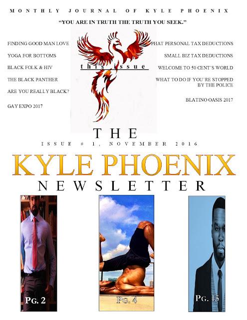Kyle Phoenix Newsletter