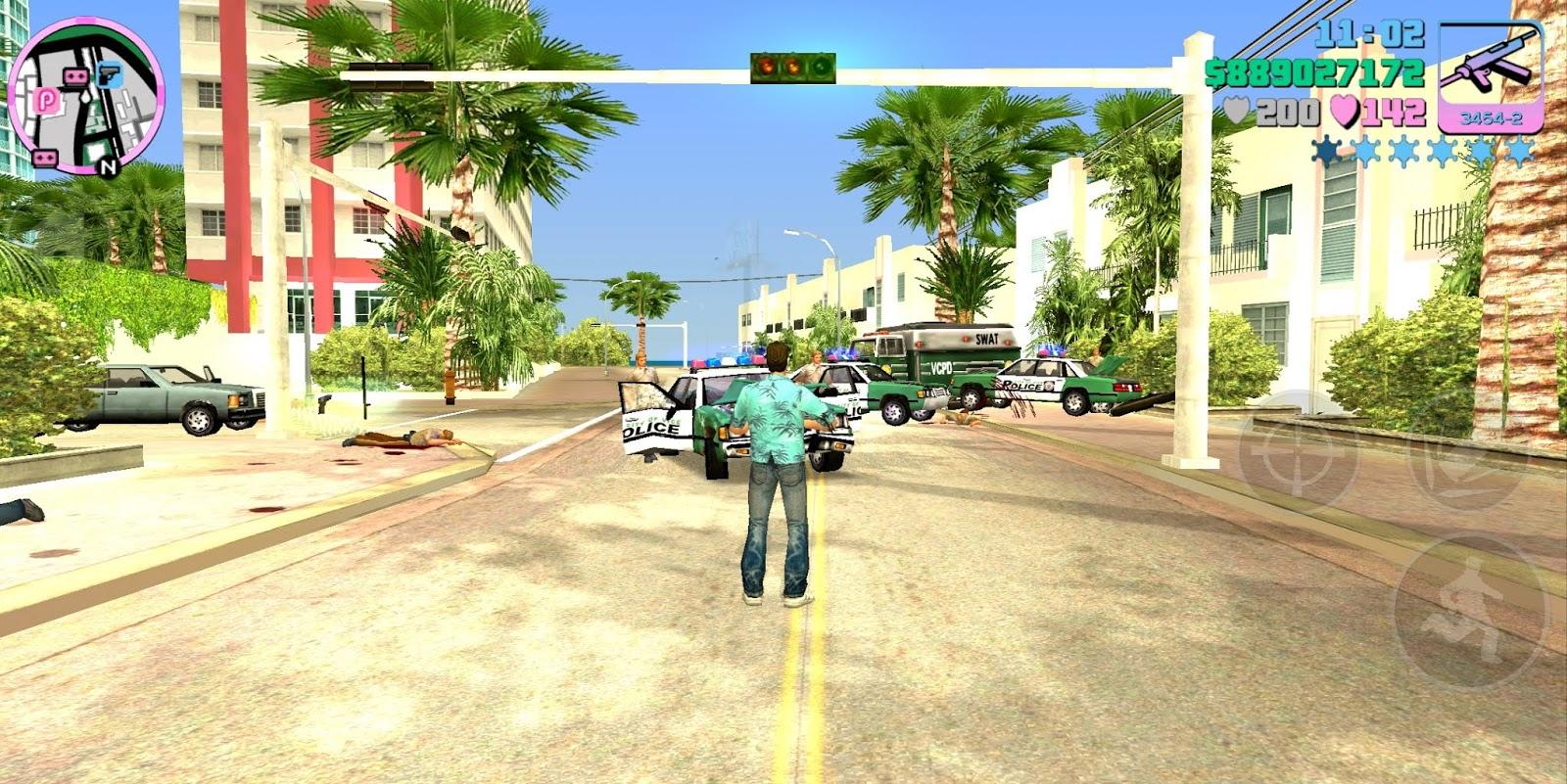 Grand Theft Auto Vice City (GTA) Mega Mod Apk Data Version