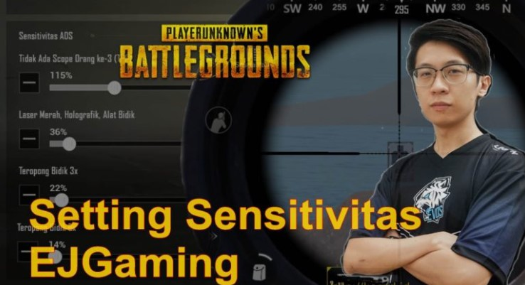 Sensitivitas PUBG Ejgaming