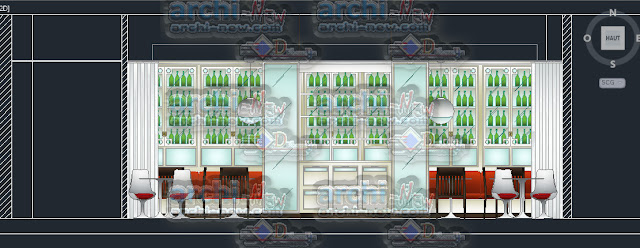 download-autocad-cad-dwg-file-Elevations-of-plant-and-garbo-restaurant-bar