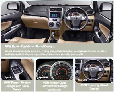 toyota avanza dashboard interior