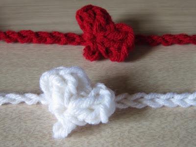 crochet, heart, garland, free pattern,