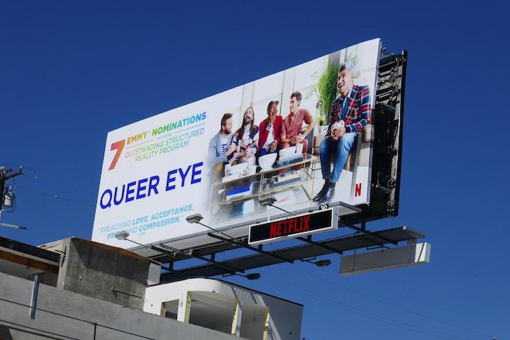 Queer Eye 2020 Emmy nominee billboard