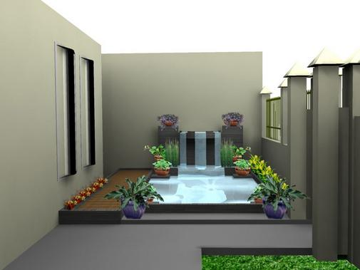 Kolam+depan+rumah+minimalis