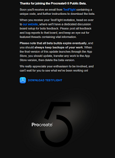 Procreate 5 Public Beta