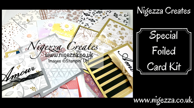 Nigezza Creates with Stampin' Up! a Special Foiled Card Kit
