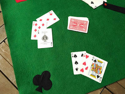 fieltro, tapete cartas, cards, rug