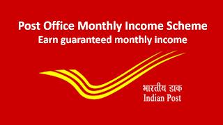Post Office Monthly Income Scheme .Get 2,850 par month.No risk.