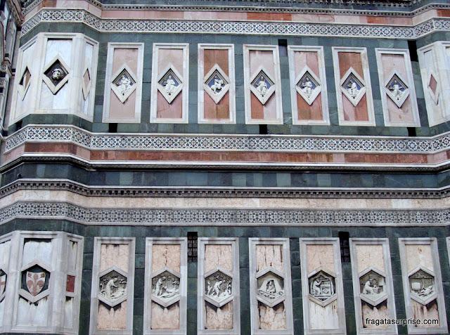Decoração do Campanário de Giotto, Florença