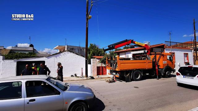 Έκτακτο: Ηλεκτροπληξία εργατοτεχνίτη της ΔΕΗ στο Αργολικό Ναυπλίου