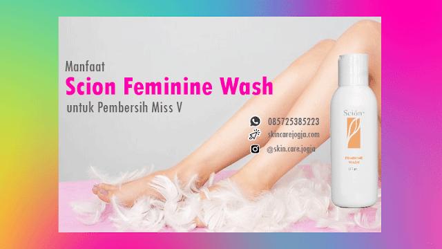 Manfaat Scion Feminine Wash Pembersih Miss V Nu Skin