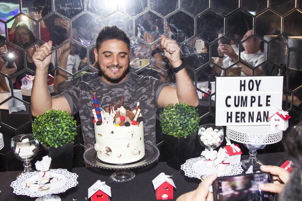 El gran festejo de cumpleaños de Hernán Lirio