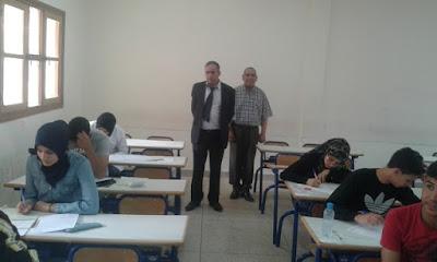 امتحانات الباكالوريا بالمديرية الإقليمية لفجيج ببوعرفة