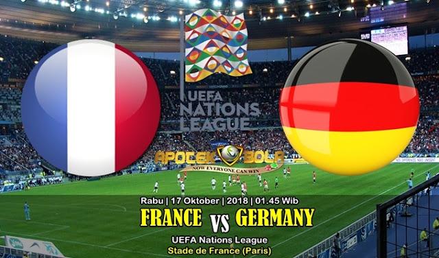 Prediksi Prancis vs Jerman 17 Oktober 2018