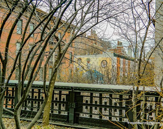 Parque suspenso High Line, Nova York
