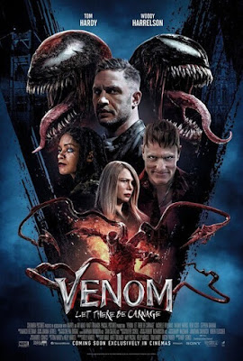 Venom: Let There Be Carnage (2021) English 720p | 480p CAMRip x264 680Mb | 250Mb
