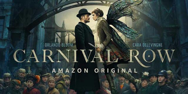 Orlando Bloom y Cara Delevingne protagonista de Carnival Row