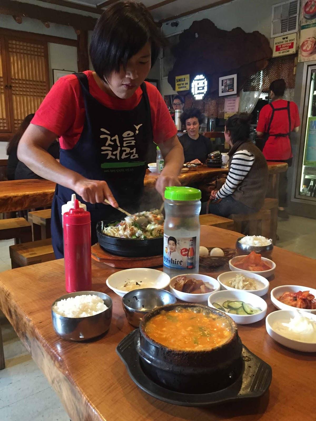 Korealaista ruokaa, nam nam