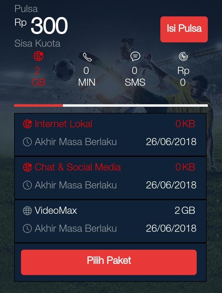 Cara Mengubah Kuota Videomax Menjadi Kuota Flash 24 Jam Paket Internet