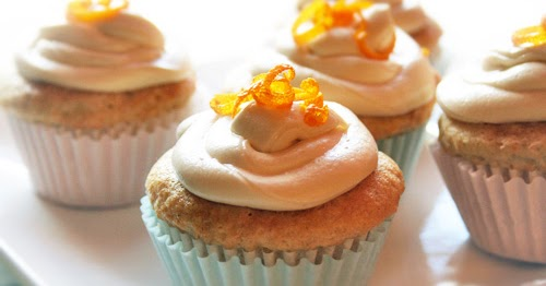 Gluten-Free Goddess® Recipes: Orange Creme Cupcakes