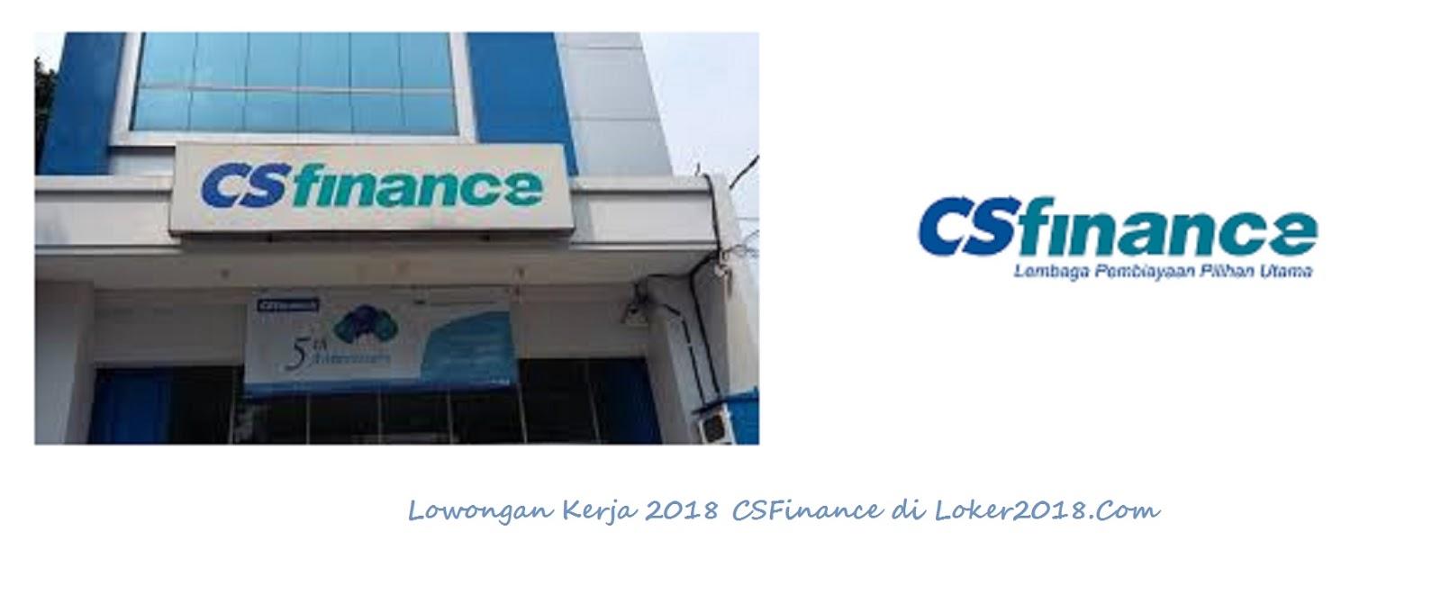 Loker CS Finance Bank BCA Tahun 2018