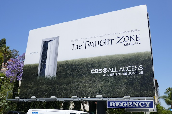 Twilight Zone season 2 billboard