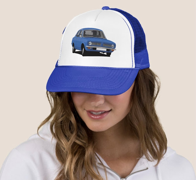Morris Marina trucker hat - blue