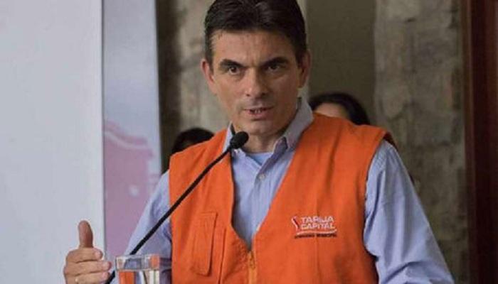 Rodrigo Paz fue socorrido por los voluntarios y se encuentra recuperado / WEB
