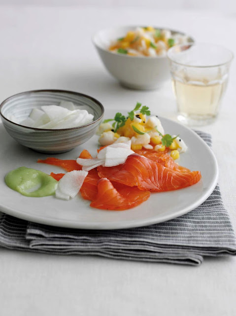 Wasabi Marinated Salmon