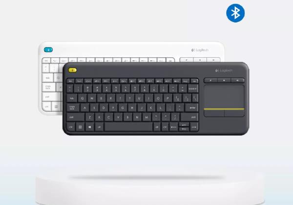 Erentech-Wireless Touch Keyboard K400 plus Logitech
