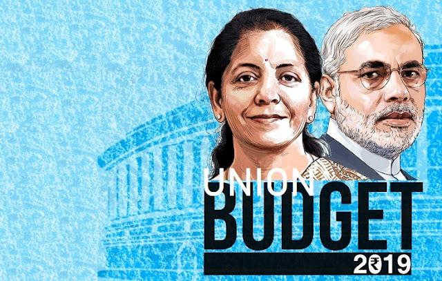 2019 Interim-Union budget of India by Mrs. Nirmala Sitharaman