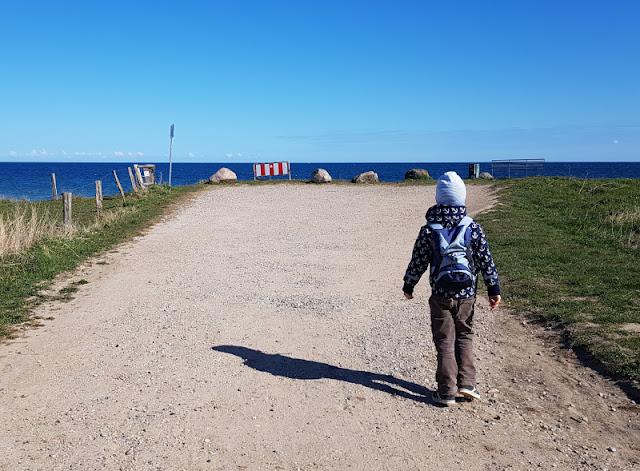 Küsten-Spaziergänge rund um Kiel, Teil 3: Raps, Steine und Meer bei Hohenfelde. Wir spazieren zum Aussichtspunkt an der Steilküste mit einem tollen Blick auf die Ostsee.