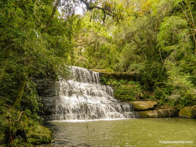 Cachoeira no Ninho do Corvo, Paraná