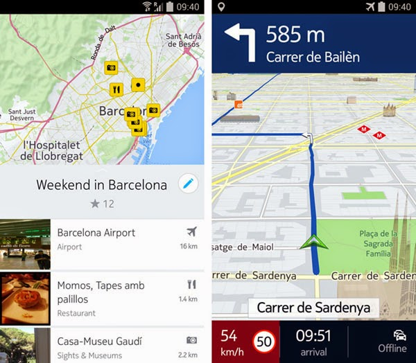 NOKIA updates HERE maps for Android with interactive 3D maps, ditches BETA label