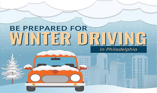 Be Prepared For Winter Driving in Philadelphia #infographic