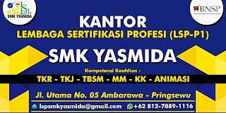Desain Banner LSP P1 SMK Yasmida