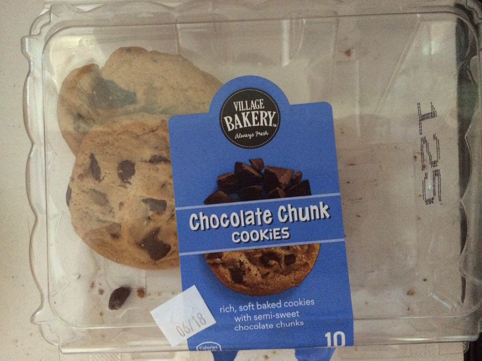 village bakery chocolate chunk and kitchen sink cookies Village Bakery Chocolate Chunk and Kitchen Sink Cookies Aldi