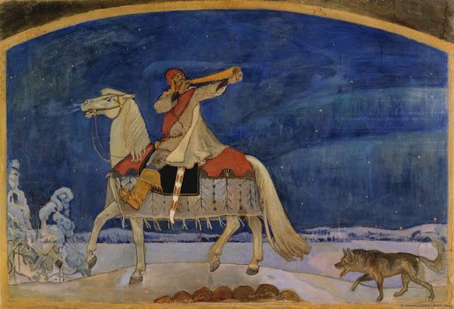 Kalevala Kullervon sotaanlähtö
