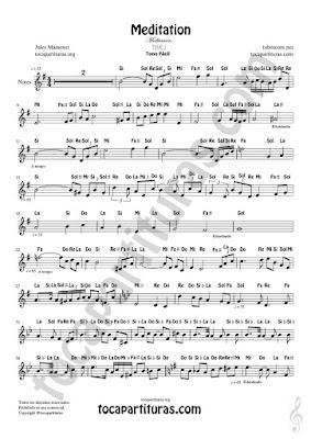 Hoja 1  Partitura Fácil con Notas en Letras de Flautas, Violín, Saxofones, Clarinetes, Cornos, Trompetas... y instrumentos en Clave de Sol Spanish Notes Sheet Music for Treble Clef  Más Partituras PDF/MIDI con Notas aquí