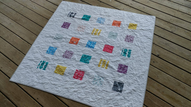 Lotta Jansdotter quick and easy throw quilt
