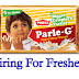 Parle-G Company Recently Announced 13,500 Posts For Freshers In This Year 2016
