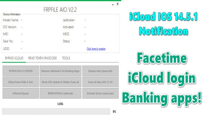 FRPFILE AIO iCloud tool V2.2 Download