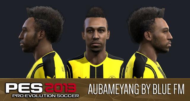 Aubameyang Face PES 2013