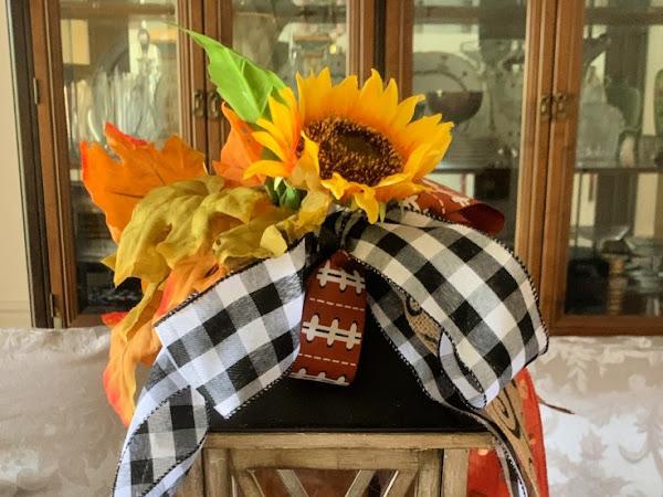 Beautiful DIY Fall Lantern and Yummy Autumn Apple Butter