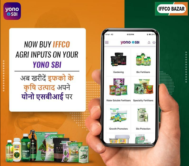 Partnership-of-IFFCO-with-SBI-Yono-Krishi-App