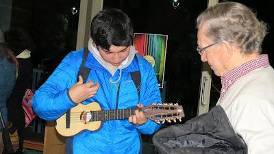 Charanguista Felipe Sanchez y Hector Soto