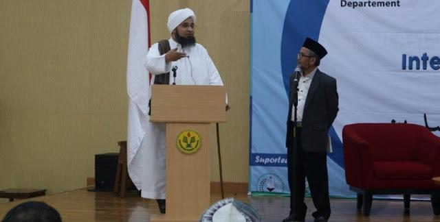 Habib Ali Al-Jufri : NU Takkan Goyah meski Diterpa Paham Radikal