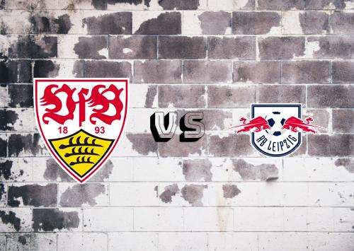 Stuttgart vs RB Leipzig  Resumen